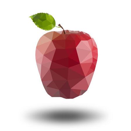 Low Polygon Apple