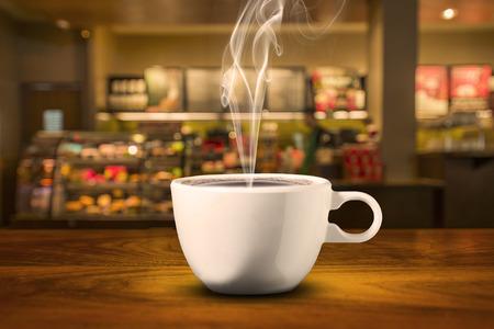 Coffee in Coffee Shop