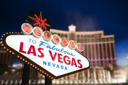 las vegas  nevada: Welcome to Fabulous Las Vegas Neon Sign