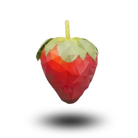 Polygonal Strawberry photo