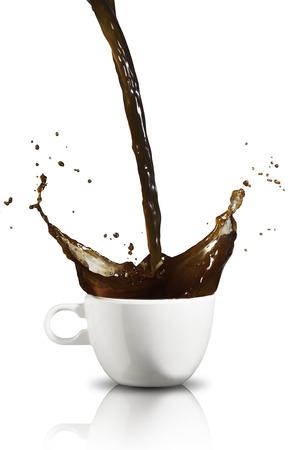 Café Splash Banque d'images - 35475260