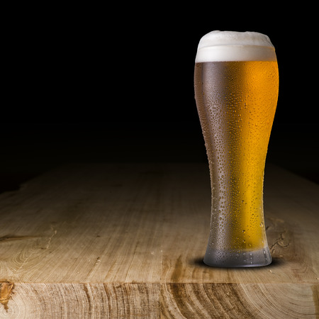 cold: Glass of Cold Beer