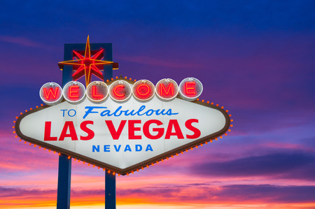 bienvenidos: Bienvenido a la fabulosa Las Vegas Muestra de neón