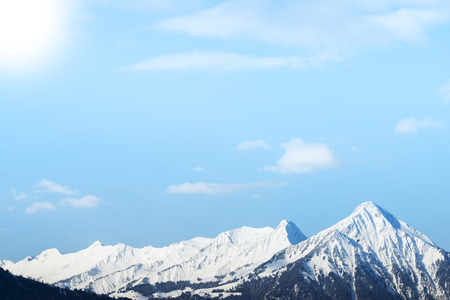 snow capped mountain: Snow Capped Mountain