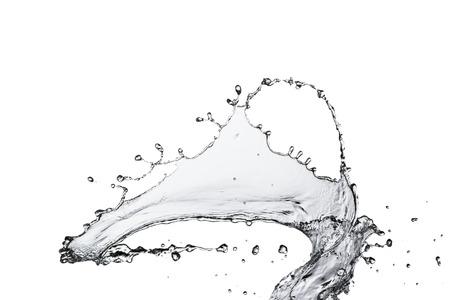 水のしぶき 写真素材