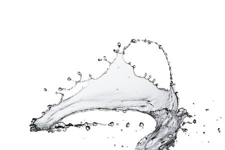 vasos de agua: Splash Water