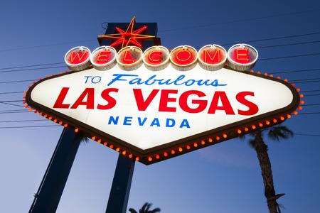 bienvenida: Bienvenido a la fabulosa Las Vegas Muestra de neón