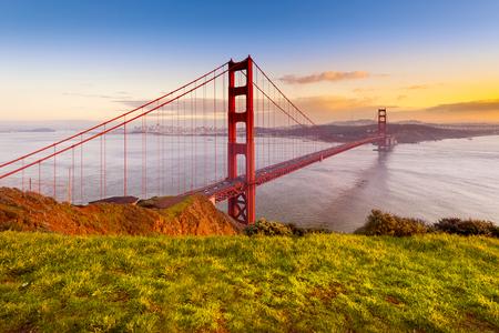 san francisco golden gate bridge: Golden Gate Bridge, San Francisco, California, USA