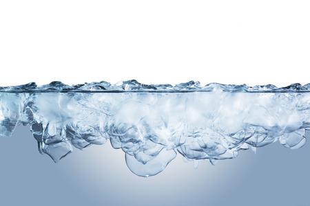 Ijsblokjes in Cold Water
