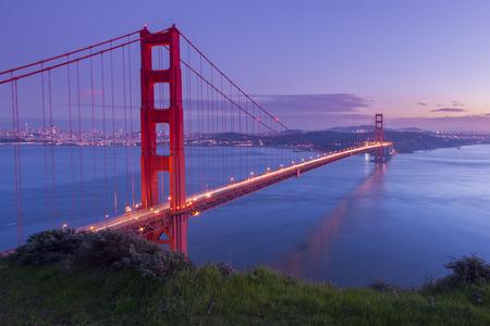 verjas: Golden Gate Bridge, San Francisco, California, USA