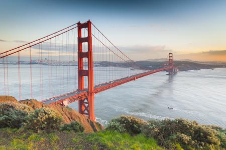 Golden Gate Bridge, San Francisco, Kalifornien, USA Standard-Bild - 44877200
