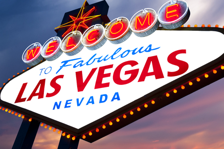 blank sign: Welcome to Fabulous Las Vegas Neon Sign