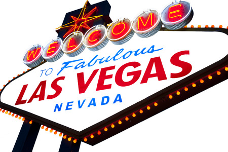 old sign: Welcome to Fabulous Las Vegas Neon Sign