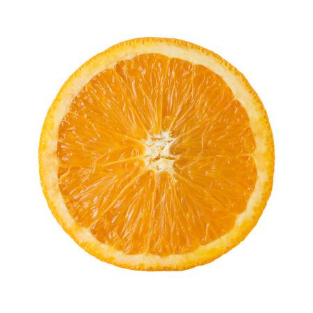 naranja fruta: Rebanada Anaranjada