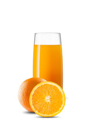 Glas Orangensaft Standard-Bild - 50821975