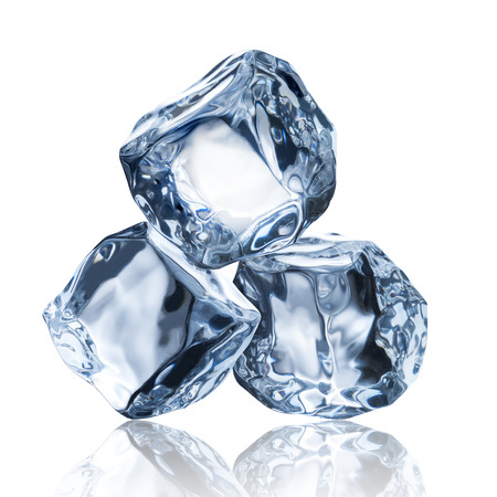 refrigerate: Three Ice Cubes