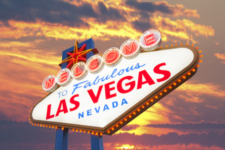 neon sign: Welcome to Fabulous Las Vegas Neon Sign