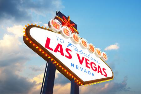 Welcome to Las Vegas Sign 版權商用圖片