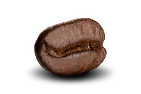 Coffee Bean On White Background 版權商用圖片