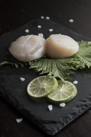 Scallop Seafood Preparation Imagens