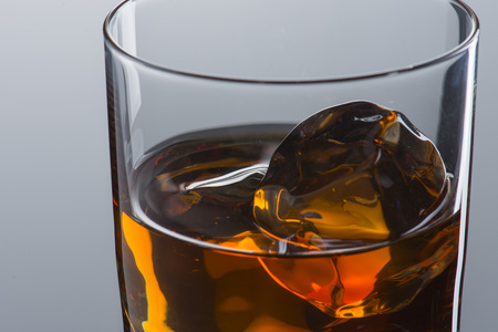 Close up of Whiskey on The Rock