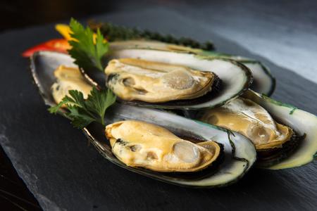 Seafood Oyster 版權商用圖片 - 107909293
