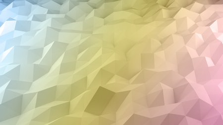 다각형 파스텔 멀티 컬러 배경 벽 종이의 추상적 인 배경. 스톡 콘텐츠