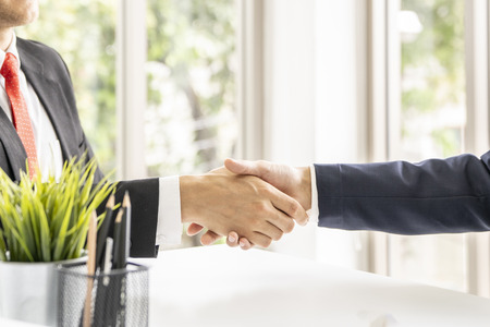 Businessman shaking hands.Business,meeting,negotiating,good deal,success,agreement concept.