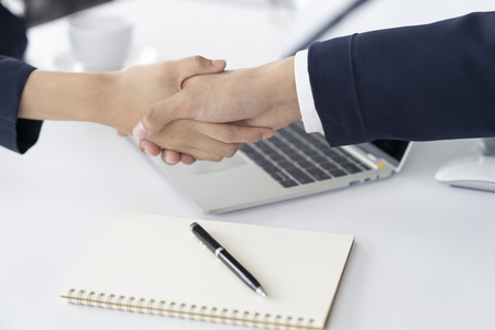 Businessman shaking hands.Business,meeting,negotiating,good deal,success,agreement concept.