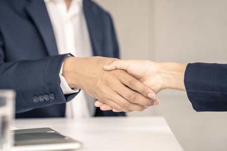 Businessman shaking hands.Business,meeting,negotiating,good deal,success,agreement concept. Archivio Fotografico - 109638242