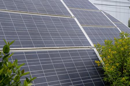 Solar cell , clean energy concept. Archivio Fotografico - 111266504