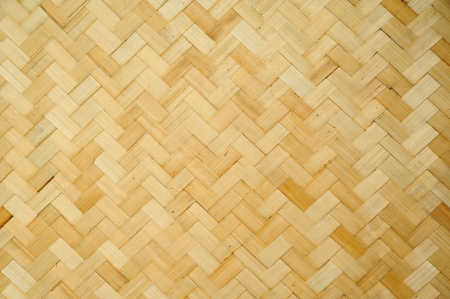 Pattern and design of Thai style bamboo handcraft  Stock Photo