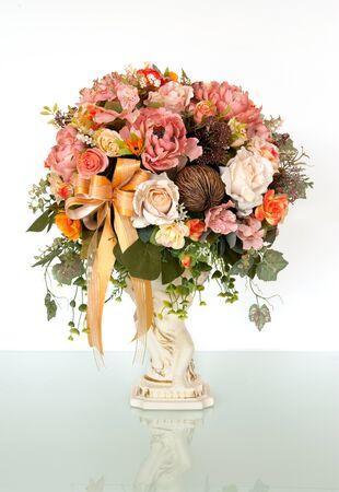 bouquet Isolated on white background  Stock Photo