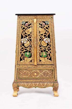 Cabinet Thailand style Is a unique Thai style box