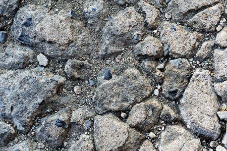 damaged cracked asphalt pattern texture Stock Photo - 16678043