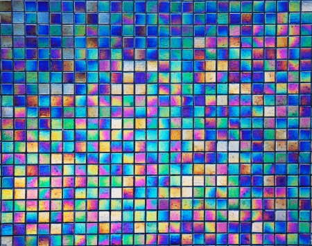 pearl mosaic tiles for  background  Stock Photo