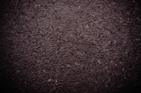 black mulberry paper texture Stock Photo