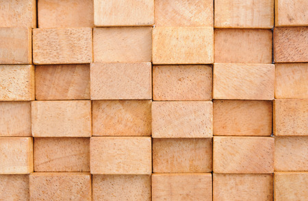 wooden block building backgrpund Stock Photo