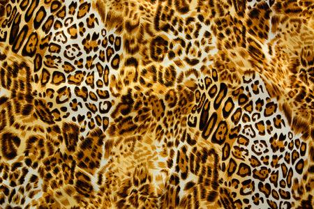hot leopard skin seamless background photo