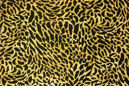 fur: Seamless leopard fur pattern