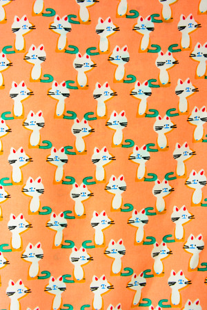 kittens: Set of seamless patterns with kittens. Patterns cartoon cats