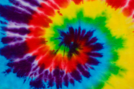 ties: tie dye fabric background