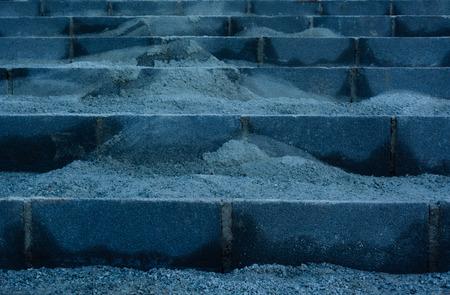 bloque de hormigon: Bloque de concreto Foto de archivo