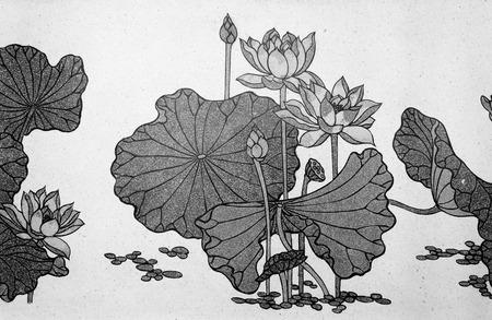 lotus pattern: lotus flower