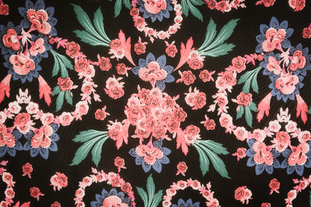 panicle: texture fabric Chic floral Style