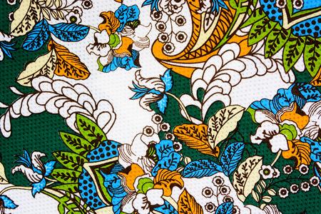 patrones de flores: flores de tela con textura de la vendimia