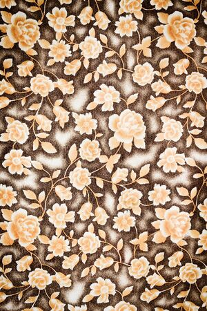 grubby: textured fabric flower of vintage