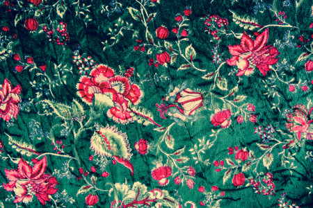 grubby: textured fabric  of flower vintage style