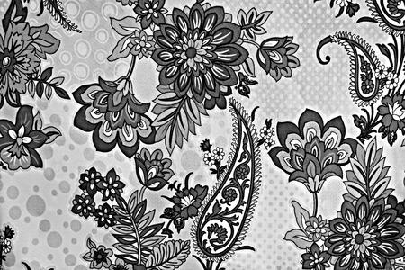 mottled skin: texture fabric of retro flower