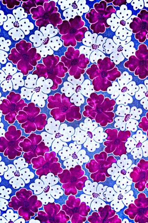 fleurs romantique: texture fabric of romantic flowers for background Banque d'images
